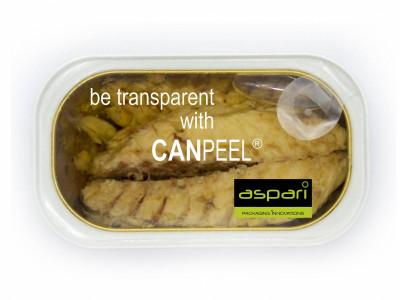 Transparent Food Can