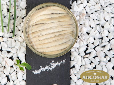 Anšovi ar caurspīdīgu vāku no Ancomar