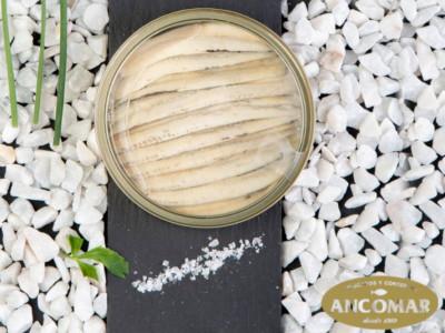 Anchoas con tapa transparente de Ancomar