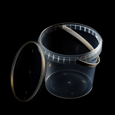 Polipropilēna trauks - 1000 ml, Ø 131 mm