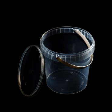 Polipropilēna trauks - 1180 ml, Ø 131 mm