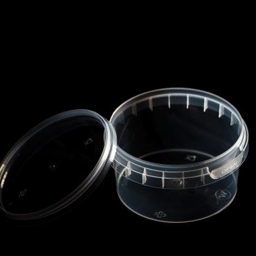 Polipropilēna trauks - 210 ml, Ø 95 mm