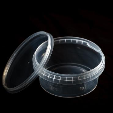 Polipropilēna trauks - 300 ml, Ø 115 mm
