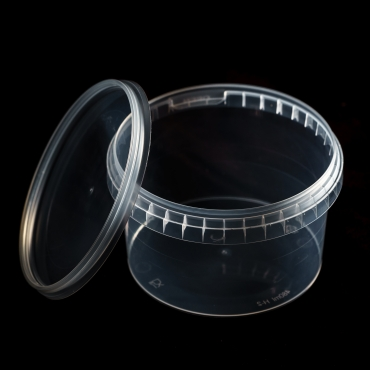 Polipropilēna trauks - 480 ml, Ø 115 mm