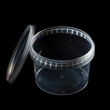 Polipropilēna trauks - 565 ml, Ø 115 mm