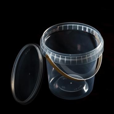 Polipropilēna trauks - 670 ml, Ø 115 mm