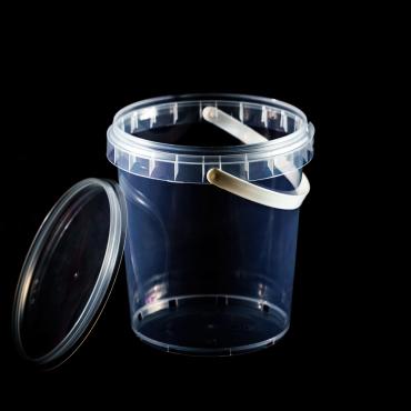 Polipropilēna trauks - 870 ml, Ø 115 mm